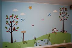 childrens church decor | Children's Wall Mural - Classic Fauxs & Finishes