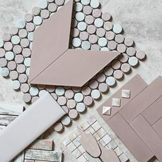 I N T R O D U C I N G New Paradise Encaustic range by We are stoked to have this inspiring new range for you of Diamonds and Mini Bricks shown here in Pink. Come in and check out the full range of colours and shapes at 256 High St Prahran.