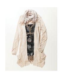 $41.00 lace detail cardigan plus size
