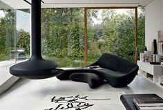 Sofa: MOON SYSTEM - Collection: B&B Italia - Design: Zaha Hadid