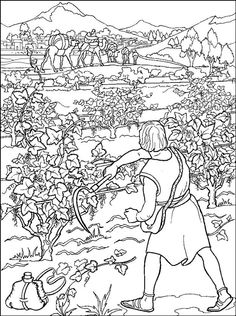 David Is Crowned King Coloring Page