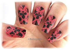 Nail Art by Belegwen: Depend - Poppy