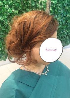ふわふわカールアップ&ボブ風スタイル♡リハ編  大人可愛いブライダルヘアメイク『tiamo』の結婚カタログ