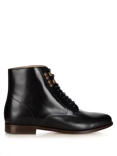 Francoise leather lace-up ankle boots | A.P.C. | MATCHESFASHION.COM UK