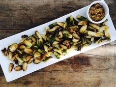Roasted Brussels Sprouts - So simple, so delicious. Plus the secret sauce to getting ANYONE to like brussels sprouts / www.mariamarlowe.com