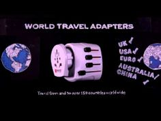 The SKROSS World Adapters allow travellers from all over the world to power their devices in over 150 countries around the globe. Stop Motion Movies, China Travel, World Traveler, Youtube, Film, Amazing, Photography, Movie, Fotografie