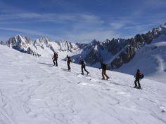 Traversata Monte Bianco con gli sci