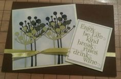 memory box chloe stem die and indigo blu stamps, handmade birthday card