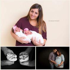 Twins Susanna e Sofia new born