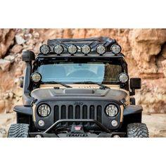 Jeep Wrangler Jk, Jeep Wrangler Light Bar, Jeep Jk, Led Light Switch, Led Light Bars, Overhead Lighting, Bar Lighting, Jeep Lights, 2 Door Jeep