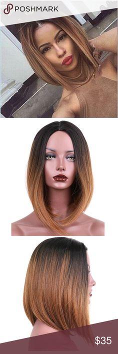 🎉🎉🎉Short Ombré Wig🎉🎉 Very cute short ombré wig comes with wig cap. Accessories
