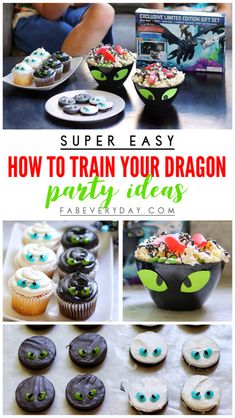 Super easy How to Train Your Dragon party ideas to celebrate the release of the How to Train Your Dragon 3 Walmart Exclusive DVD Gift Set Dragon Birthday Parties, Dragon Party, Birthday Party Themes, 8th Birthday, Birthday Ideas, How To Train Dragon, How To Train Your, Bookmarks Kids, Europe Packing