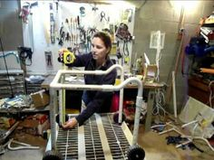 Build your own pvc walker. We recommend consulting with your child's therapist to ensure it is safe for your child.