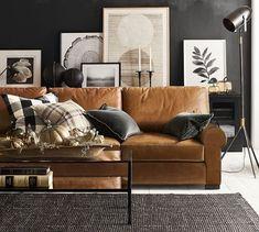 Home Living Room, Apartment Living, Living Room Designs, Living Room Furniture, Home Furniture, Living Room Decor, Rustic Furniture, Manly Living Room, Modern Furniture