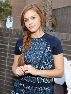 Holland Roden attends The Launch of Parker on Spring at The A List on September 16