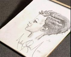 Sketch by Michael Jackson Michael Jackson Drawings, Michael Jackson Quotes, King Of Music, Quotes And Notes, First Love, Artist, Mj, Handwriting, Soldiers