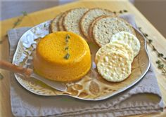 One of my favorite appetizers: Carrot Pate. Smooth, slightly sweet, easily spreadable--perfect for guests this long weekend! #vegan #dairyfree #recipe