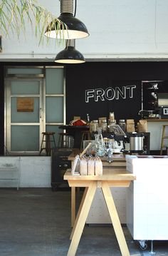 Front Coffee in Potrero Hill, San Francisco // via Spotted SF