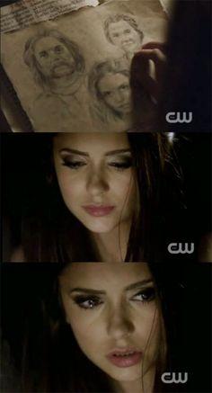 Katherine Pierce's eyes