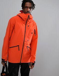 b7485a9370 Peak Performance Bec J Lightweight Ski Jacket In Orange Mantel