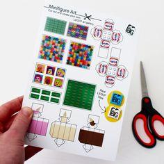 Little Big Art | Minifigure Art: Cut-Your-Own LEGO Art Gallery (Pop Art, Sculpture)