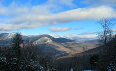 winter on the Kanc - near Lincoln, NH