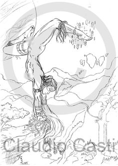 Magia dell'arte  Stampa B/N  A4 donna nudo di claudiocastishop, €15,00
