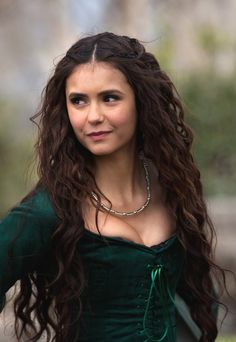 Vampire Diaries Nina Dobrev Classic and Beautiful Top Quality Heat Resistant Lace Synthetic Wig 24 Inches