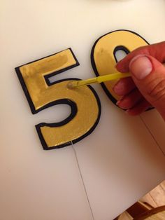 Cake Talk: How to Make a Number Cake Topper