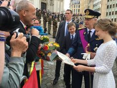 The Belgian Royals attend the Te Deum mass on National Day