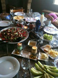 Lunch met (h)eerlijke streekproducten.