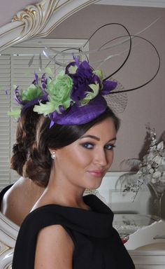Carla Purple/ Green Fascinatior - Lady VB