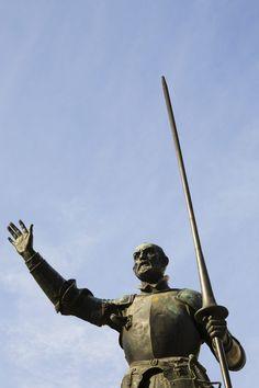 Don Quixote wore his morion helmet into important battles.