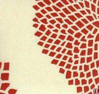 Red Mumm Fabric