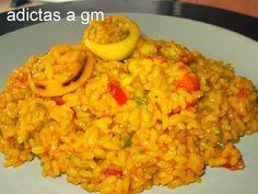 Vanessa Ollas GM, Recetas en Ollas GM (Adictas a GM): Arros Senyoret (arroz del señorito) en Olla GM