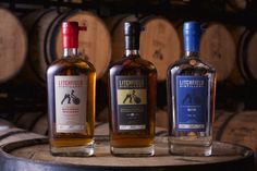 Pick up some Batchers' Bourbon Whiskey, Batchers' Double Barreled Bourbon Whiskey and Batchers' Gin all crafted from the best regionally harvest ingredients from Litchfield Distillery.