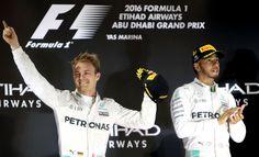 Nico Rosberg crowned Formula One world champion as Lewis Hamilton faces severe punishment from Mercedes Abu Dhabi Grand Prix, Nico Rosberg, Lewis Hamilton, Ubs, Formula One, First World, Champion, Racing, Face