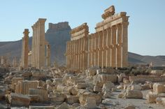 Experts scrambling to document Syria's heritage. The ancient city of Palmyra in Syria. A satellite image on Aug. 31, 2015 shows that the main building of the ancient Temple of Bel in Palmyra has been destroyed, a United Nations agency said. Experts, conservators and local residents are scrambling to document Syria's millennia-long cultural heritage that has been damaged by the country's war since 2011, by battles against the Islamic State group and by its intentional destruction [Credit: