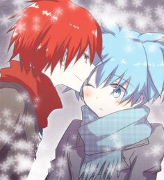 Assassination Classroom -- Nagisa x Karma