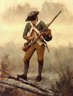 1st New Hampshire Continental Infantry 1778-Keith Rocco. American Revolutionary War