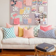 Bright Pillows Design, Pictures, Remodel, Decor and Ideas