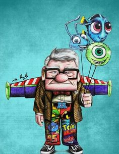 Ideas For Funny Cute Illustration Disney Characters Cartoon Wallpaper, Cute Disney Wallpaper, Disney Paintings, Disney Artwork, Disney Kunst, Arte Disney, Disney Pixar, Disney Characters, Disney Frozen