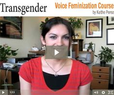 Transgender Voice Feminization Course - Male to female (MTF) vocal transition [Video]: http://www.transgenderhub.com/voice-feminization