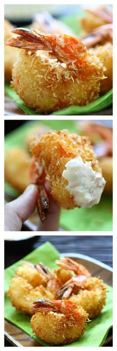 Best Coconut Shrimp Recipe, the secret ingredients are eggs and sugar. Learn to make the best coconut shrimp you've ever tasted! http://rasamalaysia.com