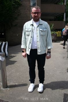 Men's Street Style - Cool and Calm