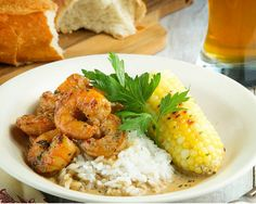 New Orleans BBQ Shrimp. Southern Cooking on your table. http://www.chefd.com/collections/all/products/new-orleans-bbq-shrimp