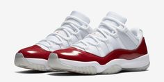 "Air Jordan 11 Low ""Varsity Red"" Official Images http://SneakersCartel.com #sneakers #shoes #kicks #jordan #lebron #nba #nike #adidas #reebok #airjordan #sneakerhead #fashion #sneakerscartel"