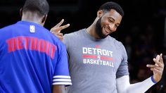 The Pistons and other athletes reacted to Drummond's contract extension on Twitter. Here are some of the best.