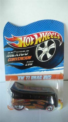 2011 Hot Wheels Mexico 4th Convention VW T1 Drag Bus 13/50
