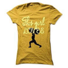 This girl loves weightlifting Order HERE ==> https://www.sunfrog.com/LifeStyle/This-girl-loves-weightlifting-Yellow-54240507-Ladies.html?52686 Please tag & share with your friends who would love it  #birthdaygifts #jeepsafari #superbowl